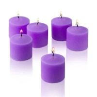 Give a new dimension to your prayer routine and find solace in these Light In the Dark Unscented Votive Candles (Set of 72). These mini pillar candles are designed to fit most candle holders thanks to the firm wax and careful wick placement. Creating a sacred aura with the warm glow, the set of 72 candles is a great example of form meeting function.  The Unscented Votive Candles (Set of 72) by Light In the Dark are each embedded with a single wick. They are made from hand-poured paraffin wax...