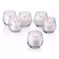 These candle holders are the highest quality votive candle holders you'll find anywhere. The walls of the glass are nearly thick. With proper care, these votive candle holders should last a lifetime. These small votive candle holders come in handy for so many situations. Use them on table tops, hallways or gardens. They make excellent party favors. Tip: a half teaspoon of water in the votive candle holder will make it easy to remove any remaining wax once the votive candle has burned out and...