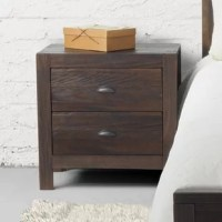 Give your bedroom a rustic look with the warmth of this solid wood Montauk 2 Drawer Nightstand. This design has two spacious drawers. Made of 100% Solid Pinewood, this Montauk 2 Drawer Nightstand features a sturdy construction that can last for years. Featuring an Eco-friendly design, this bed has minimal impact on the environment as all wood comes from renewable forests.