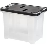 This wing-lid file box is great for transporting files, documents, or crafts.