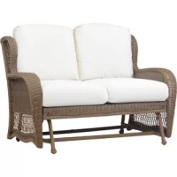 Traditional aesthetics become reinterpreted for modern outdoor living with the Riviera collection. Stately wingback seating with wide, comfortable armrests come alive with the rounded synthetic wicker weave in a versatile twig finish. Beautiful detail can be found at every corner of the Riviera's elegant shape, made to withstand the elements with rustproof aluminum framing and weather-resistant cushions.