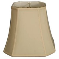 The square cut corner bell basic lamp shade is perfect for anyone who is looking for a traditional, yet stunning lamp shade. Please measure your existing shade a replacement harp may be needed for a proper fit if changing the height of your shade.