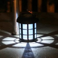 Illuminate your patio or walkway with this classic lantern, featuring a solar powered light and sleek black finish.