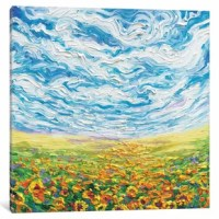 The artwork is crafted with 100% cotton artist-grade canvas, professionally hand-stretched and stapled over pine wood bars in gallery wrap style a method utilized by artists to present artwork in galleries. Fade resistant archival inks guarantee perfect color reproduction that remains vibrant for decades even when exposed to strong light. Add brilliance in color and exceptional detail to your space with the contemporary and uncompromising style of Red Barrel Studio. Gallery wrapped canvas art...