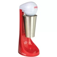 Make any Coke collector envious and brings the old-time ice cream parlor right into the kitchen. It features a versatile two-speed mixer and the 65-watt motor that allows for customizable milkshake thickness. The unit includes a durable stainless steel mixing cup and rod, while the weighted base adds stability.
