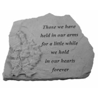 Proudly made in the USA, this stepping stone is the perfect accent to any garden or landscape. Whether it's a sentiment to a loved one or to celebrate or remember someone special, these momentos will be sure to evoke emotion in anyone who reads them. Made from cast stone they will stand the test of time. They are made to be weatherproof and are guaranteed to last a lifetime.