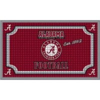 Welcome your friends, neighbors, and guests to your home with this stylish team embossed floor mat. This doormat featuring your favorite team logo is specially crafted with an embossed design that looks amazing plus traps more dirt and snow. Made from polyester, it has a non-slip recycled rubber backing.