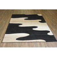 This beautiful power-loomed area rug adds an elegant touch to your home decor with its formal design embellished geometrically and its neutral shade of beige mixed with a striking bold shade of black and this area rug will stand out in any room that you lay it in. This rug is crafted of 100% Polypropylene with a soft water repellent pile height and a heavy-duty cotton backing. This hand-tufted area rug will complement any interior design whether you live in the countryside or in the city.