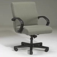 Mechanical control. All Triune Business Furniture chairs are furnished with a standard control that has 4 specific functions. A 360-degree swivel. A tilt-back action which allows the user to tilt the entire chair backward for a change of position or to be more comfortable when you are not working on a desk or other surface. An adjustable tension which makes the chair either easier or harder to tilt. A tilt-lockout which prevents the chair from tilting backward.