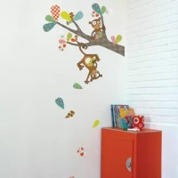 These wall decals are easy to install and to remove, damage free, and can be used on any smooth surface. Application is effortless: peel off the backing and stick the decal on the wall. They can be removed, even after many years, without leaving any residue.