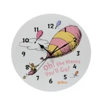 Complement any room with this unique Dr. Seuss Oh! The Places You'll Go! Wall Clock by Trend Lab.
