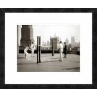 Custom framed museum quality digital reproduction. Published on archival premium matte paper. Frame in ebony small. Bright white on bright white and acrylic glazing.