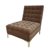 This slipper chair is the take on cozier more plush chair, same great modern clean lines and style with some added warmth.