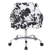 Bask in your tasks and roll through any undertaking effortlessly with Union Rustic sumptuous Desk Chair. Extra plush, extra sturdy and most importantly extra style. Durable polished chrome base and high performance all directional wheels allow smooth movement across carpeting.
