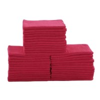 Bulk Set of 36. Get safe, chemical-free cleaning with a high-quality microfiber! Prep & Savour Professional Grade Microfiber Cleaning Cloths are the most efficient cleaning cloths on the market. Microfiber is incredibly absorbent and picks up dirt and stains without the use of harsh chemicals. The unique hydrophilic fibers pull water in, which is stored in tiny air pockets so that the cloth Prep & Savoures instantly as air passes through it. Quick-drying action prevents the buildup of bacteria...