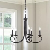 Edgell 5 - Light Candle Style Classic / Traditional Chandelier