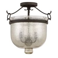 The majesty of the Gervais series is enhanced by the speckled mercury glass. With the traditional hurricane design, the glass is clear enough to illuminate yet opaque enough to mute the light perfectly. The rustic black finish is textured and emits a sense of age with its multiple range of colors.