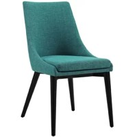 Energize your decor with this Carlton Wood Leg Upholstered Dining Chair. From the sheer force of the design to the exceptional versatility of the uses, this product is perfect for modern contemporary decors seeking a bold chair that makes a statement.