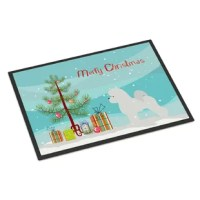 A black binding tape is sewn around this door mat for durability and to nicely frame the artwork. This door mat has been permanently dyed for moderate traffic and can be placed inside or out (only under a covered space).