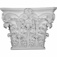 Appliques and onlays are the perfect accent pieces to cabinetry, furniture, fireplace mantels, ceilings and more. Each pattern is carefully crafted after traditional and historical designs. Each polyurethane piece is easily installed, just like wood pieces, with simple glues and finish nails. Another benefit of polyurethane is it will not rot or crack and is impervious to insect manifestations. It comes to you factory primed and ready for your paint, faux finish, gel stain, marbleizing and more.