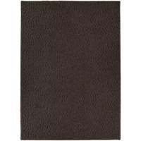 Add a brush of charm to the interior of your home and get this Edith Tufted Chocolate Area Rug. A solid patterned design, the rug will complement homes with contemporary settings. It is finished with a rich brown color. The rug is machine tufted using polypropylene that enables years of efficient use in your home. It has a latex non-skid backing that provides stability and support. It is resistant to fading and soiling. This Edith Tufted Chocolate Area Rug is easy to care for and should be...