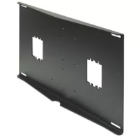 The External Wall Plate Mounts to the outside surface of a finished wood stud or metal stud wall. This model is for studs on centers. For use with single arm Peerless jumbo mounts.