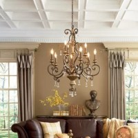 Windsor Rise 9-Light Candle Style Classic / Traditional Chandelier with Crystal Accents