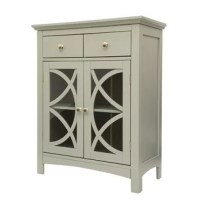 This storage cabinet with door features several storage areas with shelves and drawers. It offers ample space for accessories such as books, dinnerware, towel and more. The elegant finish and accompanying ergonomic handles will complement your home contemporary decor. You can also place this cabinet in your bedroom, living room, bathroom or garage to expand your storage options.
