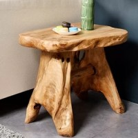 Welland Indoor/Outdoor Cedar Garden Bench adds a natural accent to your garden, patio, deck or any indoor room. Every bench is different as they are each carved by skilled artisans interpreting the wild wood patterns and natural shapes of the root or stump they come from. With an easy to clean food-safe lacquer finished they are a wonderful addition to home and table. Each of August Grove hand carved root stools is uniquely beautiful and stands alone as a natural work of art. These fantastic...