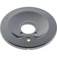 Be certain your Delta faucet is in primary working order by replacing missing or damaged pieces. This is a replacement escutcheon plate which protects your push button diverter and gives it that sleek hardware style to match the rest of your decor and hardware. Designed exclusively for Delta faucets.