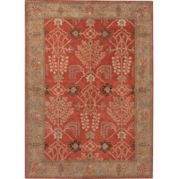 Timeless with a traditional floral print, this rug boasts a rich color palette and classic botanical allure. Colors meld together to create an autumn-inspired colorway on this elegant and durable layer.