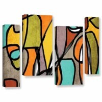 Vibrant Colorful Abstract 11 is a beautiful reproduction featuring an abstract array of cool tones. A wonderful conversation piece that will add character to any home or office.