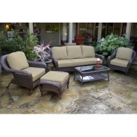 The Darby Home Co Fleischmann 6 Piece Sofa Set with Cushions is the perfect outdoor seating arrangement that adds a touch of elegance to your patio, garden, or lawn. It is a complete set of six pieces, which allows you to spend quality time with your family and loved one's. The Fleischmann 6 Piece Seating Group with Sofa from Darby Home Co is a coastal style deep seating arrangement with beautiful design that adds a classic look to your lawn or patio. This seating group has an aluminum frame...