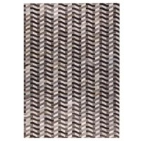Soft, neutral hues in an entrancing geometric pattern lend the Grund Hand woven Gray Area Rug its charm and appeal. Crafted using the finest leather, this refined carpeting is perfect for a den or living room with a natural or organic theme. Change the look of a room quickly and with minimal effort by adding this beautiful piece of decor to your decorating arsenal.