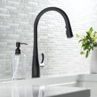 An innovative fit for a variety of kitchens and tasks, the Simplice Pull-down Kitchen Faucet with Sweep Spray and DockNetik® combines an elegant, universal design with exceptional ergonomics and functionality. The Sweep™ spray creates a wide, forceful blade of water for superior cleaning. Kohler®'s new docking system, DockNetik®, secures the pull-down spray head to the spout using a magnetic force.