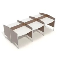 Wave workstations are simple, sleek and sturdy desks made popular in libraries and educational settings. Suitable for any application and configurable to fit your needs and space.