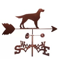 This is a real working weathervane. They are all made with pride by a small family business located in the US.