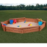 Covered sandboxes from creative cedar designs are the perfect addition to your backyard play equipment! Make your children's sandbox a central fixture of the neighborhood with hours of safe, collaborative play. Diy sandbox kit requires no special tools and includes sandbox panels, seat boards, hardware, liner, cover, and sandbox plans with a play-safe installation checklist.