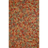 The highly detailed painterly effect is achieved by Liora Mannes patented Lamontage process which combines handcrafted art with cutting edge technology. These rugs are hand made of 100% polyester fibers that are intricately blended together using Liora Manne's patented Lamontage process. They are then finished using modern needle punching and latex processes that create a work of art that is practical. The flat simple nature of these Lamontage rugs is an ideal base with which to create a rug...