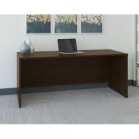 Adaptable to your personal style, the Series C Elite Collection 72W x 30D Desk Shell in Mocha Cherry for classic styling with clean lines and extended modesty panels. The Credenza Shell is constructed with thermally fused laminate for durability and superior resistance to scratches and stains. You'll enjoy the integrated wire management located within both desktop and leg grommets to conceal cables to keep your desk area uncluttered. Configure with the 72W Hutch, use as a left or right desk...