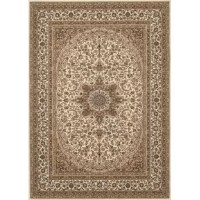 Beautiful rug is unique, stylish and ready to accent your decor with authentic elegance. This rug features bold colors and oriental design. This rug has an extremely heavy, dense pile as well as a heavy surface texture.