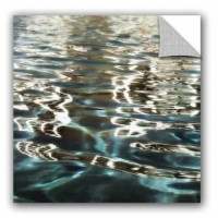 Clear Waves 4 Wall Mural is a beautiful photograph featuring rippled water. Would compliment any home or office.