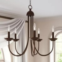 Bordelon 5-Light Candle Style Classic / Traditional Chandelier
