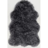 The Peridot Faux Sheepskin is a luxurious plush rug with a texture like no other, in black these rugs look like the real deal but are even more plush than a true sheepskin.
