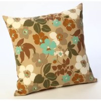 Liven up any patio or backyard with this colorful Outdoor Throw Pillow.