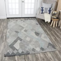 The Arcand Hand-Tufted Gray Area Rug Collection Brings Texture And Dimension To A Whole New Level. Hand Tufted Using Premium Wool, This Abstract And Geometric Designs Make A Dramatic Statement To Any Setting. By Combining Different Dying Techniques Of On-Trend Colors, Different Yarn Thicknesses, High And Low Cut Piles, And Loop Pile Where It'S Called For, The Designers Of This Collection Hit A Home Run!