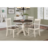 Culbertson 5 Piece Solid Wood Dining Set