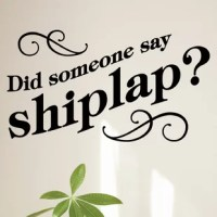 Did someone say shiplap?