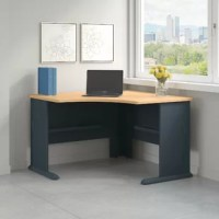 The Series A Collection combines modularity, strength, and sensibility into a powerful solution for the workstation environment. Versatile configuration possibilities enable diverse, customized workforce set-up. The corner desk combines intelligently in any space and shape. Hutches, pedestals and lateral files configure easily above and around work areas to provide either privacy or connectivity to adjacent areas and activities. Accessories, including drawers, light, and keyboards, fit in...