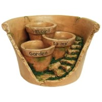 The Welcome to My Garden Broken Planter is the perfect planter for adding a creative touch to your garden.